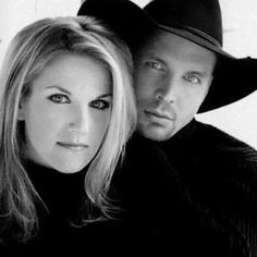 Trisha Yearwood and Garth Brooks - I don't usually love country music - but I love both of them.