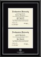 Northwestern University Diploma Frame