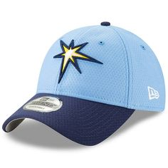 official photos d762c f6070 Men s Tampa Bay Rays New Era Light Blue Navy 2019 Batting Practice  Alternate 9TWENTY Adjustable Hat, Your Price   25.99