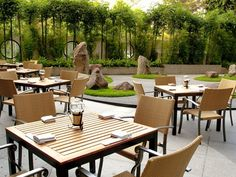 Benkay. Su agradable jardín con una sensación de paz y armonía.