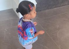 Kylie Jenner Shows Off New Hairstyle For Stormi Webster Kylie Jenner, Jenner Kids, Kardashian Jenner, Cute Kids Fashion, Baby Girl Fashion, Cute Little Girls Outfits, Kids Outfits, Baby Outfits, Look Girl