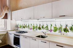 Fototapeta w nowoczesnej kuchni