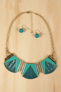 Tribal River Necklace