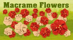 How to Make a Macramé Flower ✿ Fiore ✿ Fleur ✿ Flor ✿ Blume ✿ Цветок ~ Added to this board, but link not yet checked on Macrame Owl, Macrame Jewelry, Macrame Bracelets, Owl Jewelry, Flower Jewelry, Metal Jewelry, Micro Macramé, Macrame Bracelet Tutorial, Patchwork Blanket