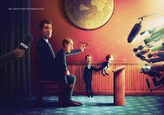 Es bueno este anuncio de Forbes, pero también es más falso que un duro de madera. La prensa económica suele estar siempre en el grupo que aparece en la derecha de la imagen.