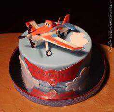 торт с самолетом дасти - Поиск в Google