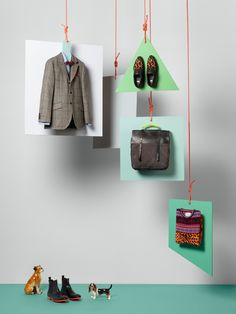 +Geometry in Visual Merchandising+ This is a great example of how simple geometrical shapes can be the focal point to enhance elegant merchandise. This was taken from BFC & GQ Collections by Sarah Parker, London Photography: Sam Hofman. February 2nd, 2014 by retail design blog