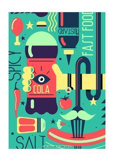 Poster by khaled ezzeldien aboseada, via Behance