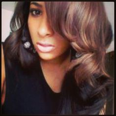 PerfecTress Natural Body #indianremy rocked by Miranda! Looks fab,  wouldn't you say?! #teamwags