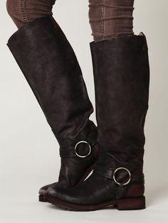 tall biker boots