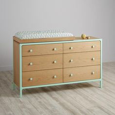 Larkin 6-Drawer Changing Table (Mint)   inspiration for the Tarva chest changing table hack