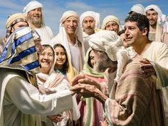 Joseph is reunited with Jacob free visuals Jacob learns that Joseph is alive and travels to see him.Genesis 45:16 - 46:34