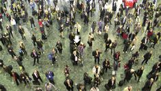 station crowds