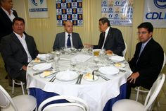 Reunião na CDL com Senador Dornelles e Sávio Neves