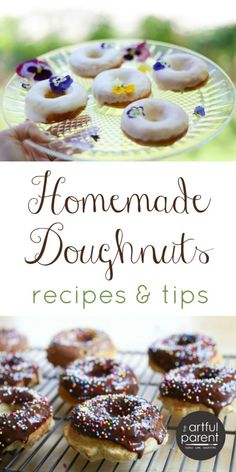 How to Make Homemade Doughnuts - Recipes and Tips