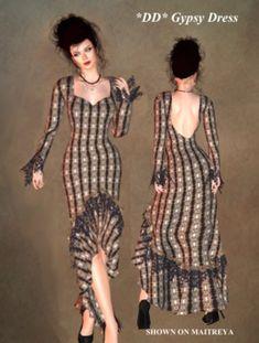 2089c11275f Second Life Marketplace -  DD  Gypsy Dress by Dulcinea Designs  mesh  mesh