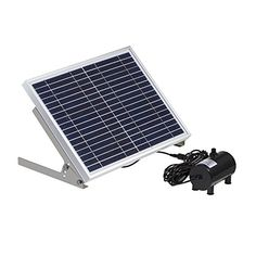 Fronnor 17V 10W Solarpowered Decorative Fountain Water Pump for Garden PoolPondWater Garden 10W ** You can get additional details at the image link.