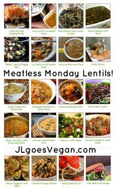 Meatless Monday Lentils