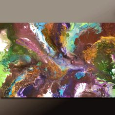 Abstract Canvas Art Painting 36x24 Original by wostudios