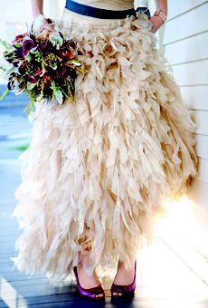 Wedding dress by Tadashi Shoji; Photo by Gertrude  Mabel #weddings http://pinterest.com/nfordzho/dream-wedding/