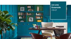 SW - Color of the Year 2018 - Oceanside SW 6496 - slide 1