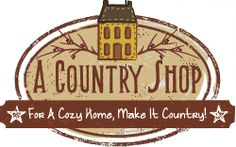 MakeItCountry.com - Great site that carries country/ primitive home decor and gifts!