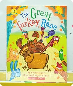 Fun book for Thanksgiving and a great follow-up beginning, middle, and end summarizing craftivity idea at this blog.