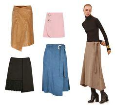 Trend Wrap Skirt | Dresscab