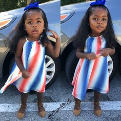 Image may contain: 2 people, child, stripes and outdoor Cute Black Babies, Black Baby Girls, Beautiful Black Babies, Cute Baby Girl, Cute Babies, Beautiful Children, Girly Girl, Black Kids Fashion, Little Kid Fashion