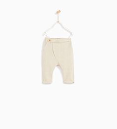 RUSTIC TEXTURED WEAVE TROUSERS-TROUSERS-BABY BOY | 3 months - 4 years-KIDS | ZARA United States