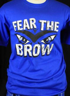 "Would you wear this ""Fear the Brow"" Anthony Davis t-shirt?"