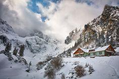 ***Munții Bucegi by Ovi TM (Romania) Other Countries, Cabana, Romania, Europe, Country, World, Photography, Travel, Outdoor