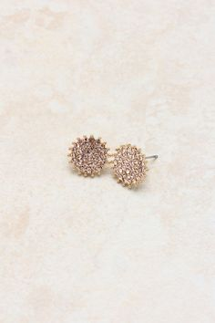 Rose Crystal Cluster Earrings | Awesome Selection of Chic Fashion Jewelry | Emma Stine Limited