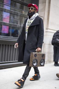 New York Men's   Street Style   Fall 2018 Day 2