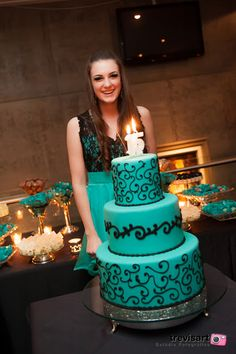 Festa de 15 anos da Camila: Festa da Gabi - Azul Tiffany