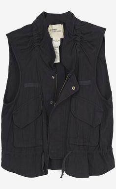 Isabel Marant Etoile Brown Vest