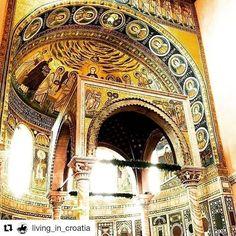 #Repost @living_in_croatia (@get_repost)  #repost @4pixx with @repost.bot .  #Porec #Croatia #istria #istria2018 #croatia2018 #basilica #euphrasianbasilica #hdr #good #jesus #christianity #christian #church #golden #adobelightroom #lightroomcc #smartphone #picoftheday #pic #photo #photographer #foto #travel #trip #temple #light #living_in_croatia