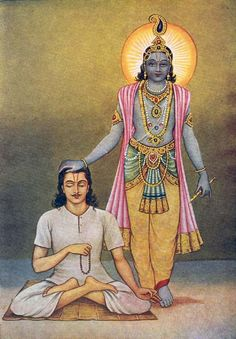 Krishna and Arjuna, Bhagavad Gita