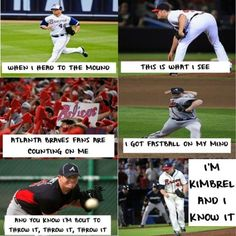 I'm Craig Kimbrel and I know it!