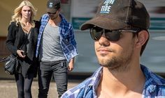 Taylor Lautner steps out with his new girlfriend Raina Lawson