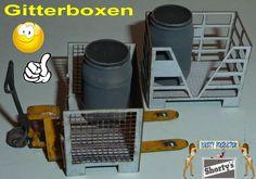Shorty-Production: Gitterboxen