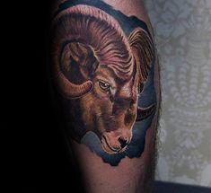 100 Tattoo Designs Ram pour les hommes - Idées d'encre de moutons Bighorn - Club Tatouage