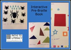 Interactive pre-braille book