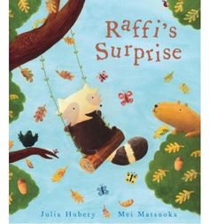 Raffi is a little raccoon who lives with his mother high up in the branches of Old Father Oak. One chilly morning, Raffi sees a golden leaf at the end of a branch. But, as he reaches out for it, it flutters away to the ground. All around him, more and more leaves begin to fall. This picture book is a useful introduction to the four seasons. Fall Art Projects, Toddler Art Projects, Fallen Book, Autumn Painting, Children's Picture Books, Autumn Theme, Autumn Art, Preschool Activities