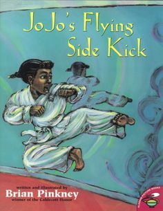 Jo Jo's flying side kick / Everyone gives JoJo advice on how to perform in order to earn her yellow belt in tae kwon do class, but in the end she figures it out for herself. African American Literature, American Children, Used Books, My Books, Black Children's Books, Black Authors, Book Cover Art, Children's Literature, Childrens Books