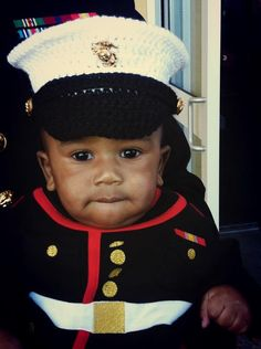 Dress Blues Hat Baby Marine Corps Hat You Pick by conniemariepfost, $28.00