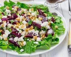 Salade de betteraves diététique au fromage frais et aux noix, vinaigrette à la moutarde : http://www.fourchette-et-bikini.fr/recettes/recettes-minceur/salade-de-betteraves-dietetique-au-fromage-frais-et-aux-noix-vinaigrette
