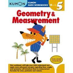 Geometry & Measurement (Kumon Math Workbooks Grade 5)