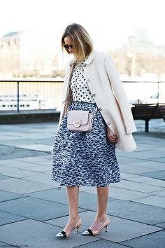 London_Fashion_Week-Street_Style-Fall_Winter_14-Mixing_Prints by collagevintageblog, via Flickr