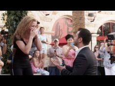 I think I wanna marry you! Best Wedding Proposal Marry You Flashmob - YouTube